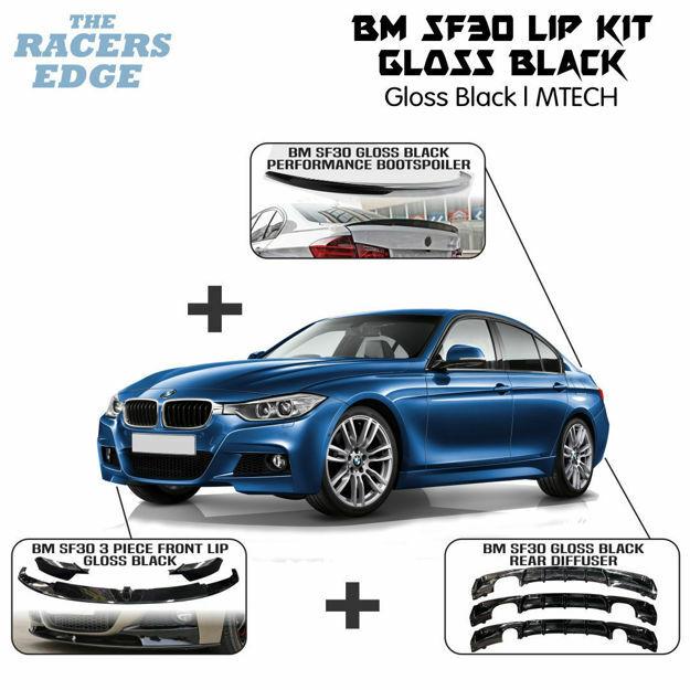 Picture of BM SF30 Gloss Black Lip Kit (M-TECH)