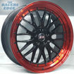 Picture of 20 inch STR Racing - 5x114 - Black w/ Red