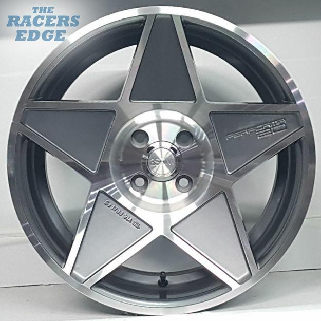 Picture of 17 Inch Mag Wheel - 3SDM - Gunmetal