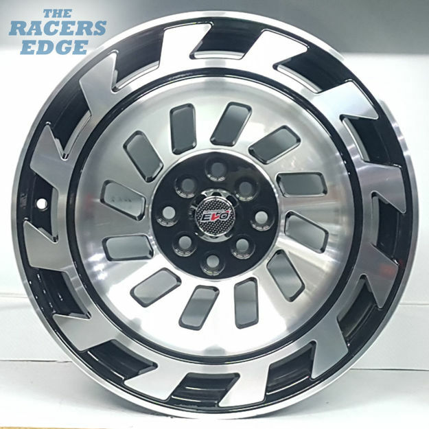 Picture of 17 inch R-Form Radiate - 4x100/114 - BLack