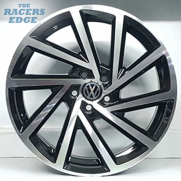 Picture of 17 inch Golf 7.5R Reps - 5x100 - Black