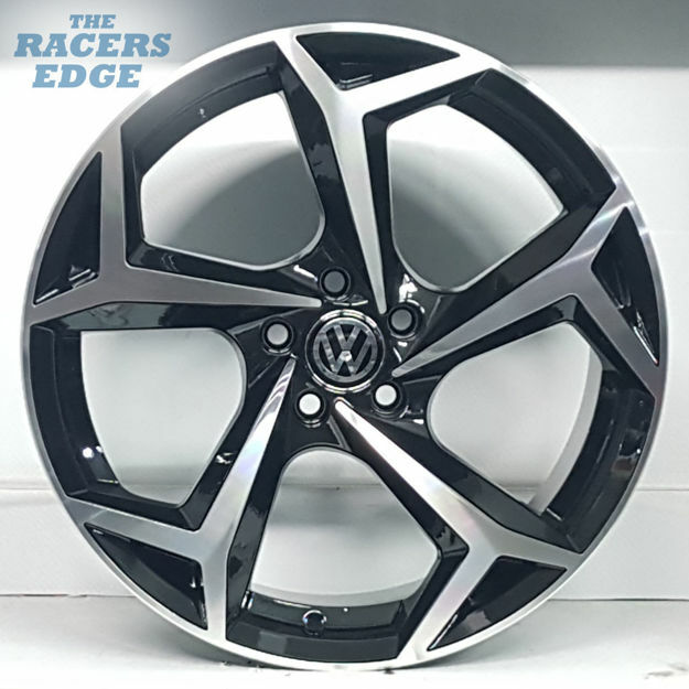 Picture of 17 inch Polo 8 Reps - 5x100 - Black