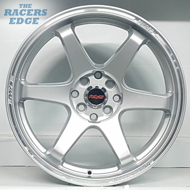Picture of 17 inch Rays TE37 - 4x100/114 - Silver