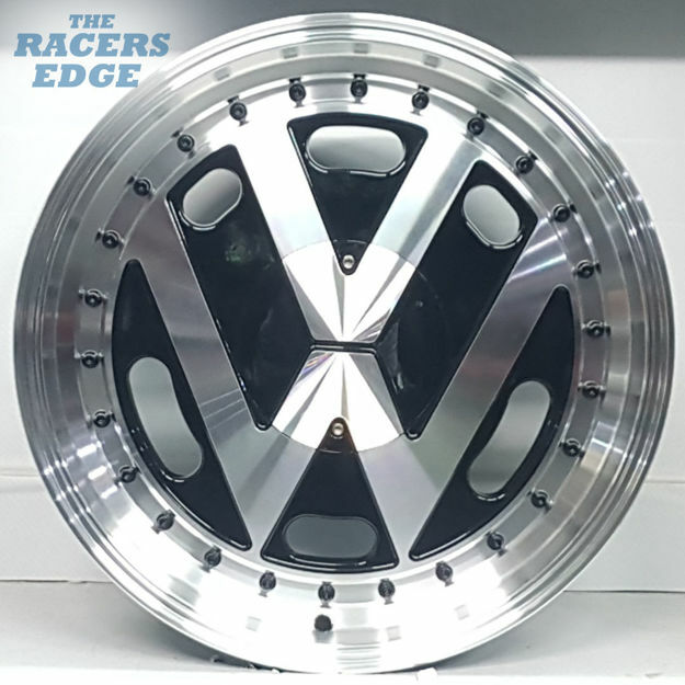 Picture of 17 inch VW Tinclip - 4x100 - Black
