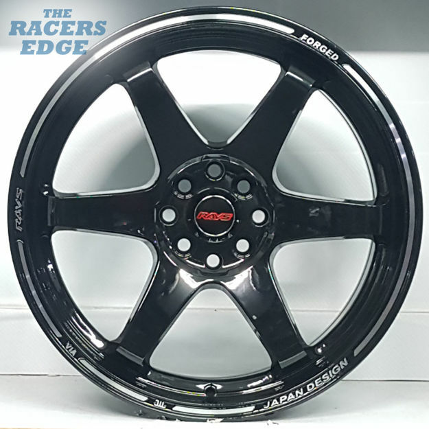 Picture of 17 inch Rays TE37 - 4x100/108 - Gloss Black