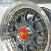 Picture of 15 inch BBS ESA Reps - 4x100/108 - Gunmetal with Gold Studs