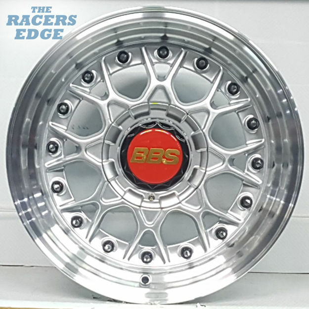 Picture of 15 inch BBS ESA Reps - 4x100/114 - Silver with Black Studs