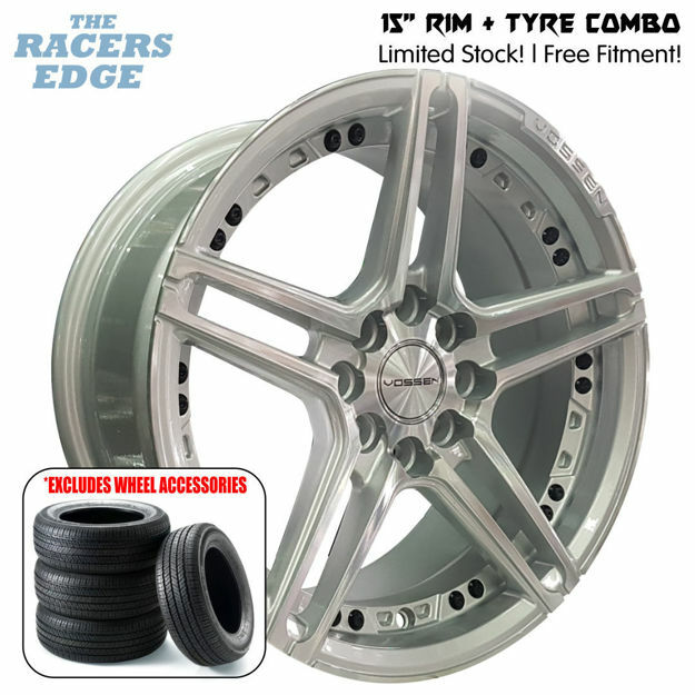 Picture of 15 inch Vossen 1134 COMBO DEAL - 4x100/108 - Silver