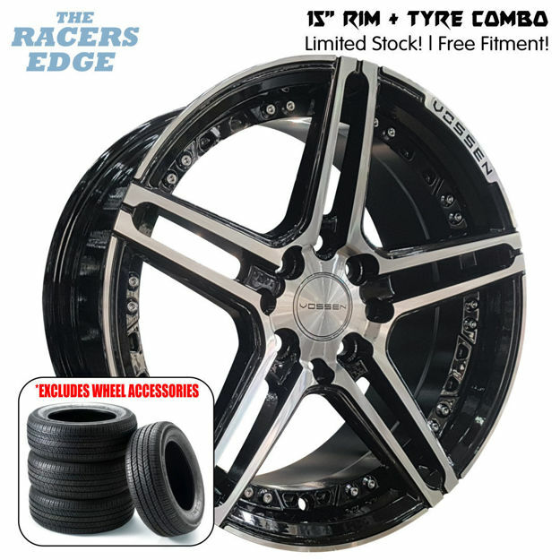Picture of 15 inch Vossen 1134 COMBO DEAL - 4x100/114 - Black