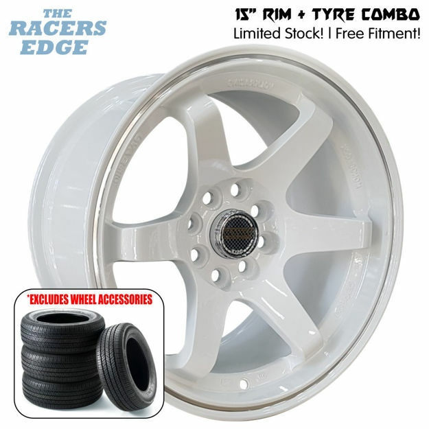 Picture of 15 inch Rays Eng TE37 COMBO DEAL - 4x100/108 - White
