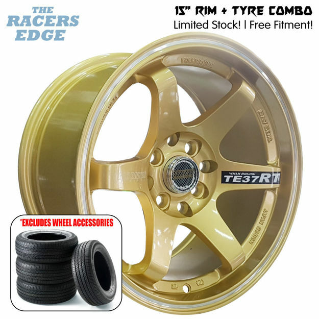 Picture of 15 inch Rays Eng TE37 COMBO DEAL - 4x100/114 - Gold