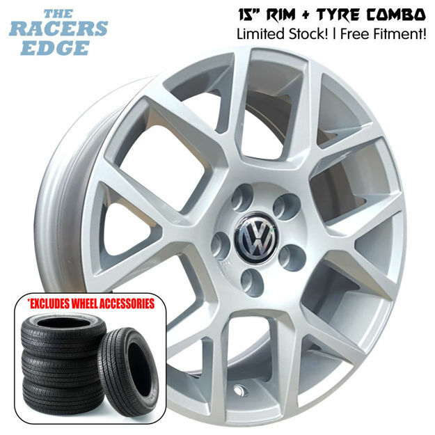 Picture of 15 inch VW Edition 35 COMBO DEAL - 5x100 - Silver