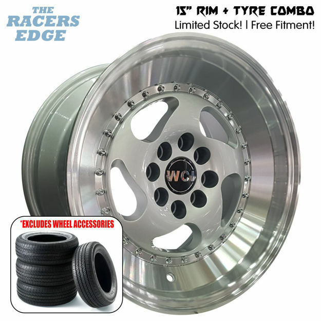 Picture of 15 inch WCI CC10 COMBO DEAL - 4x100/108 - Silver
