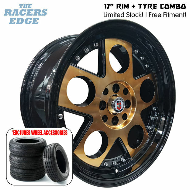 Picture of 17 inch HRE Lambo Rep COMBO DEAL - 4x100/114 - Bronze