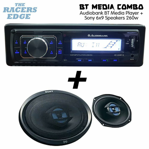 Picture of Audiobank Bluetooth Media Combo