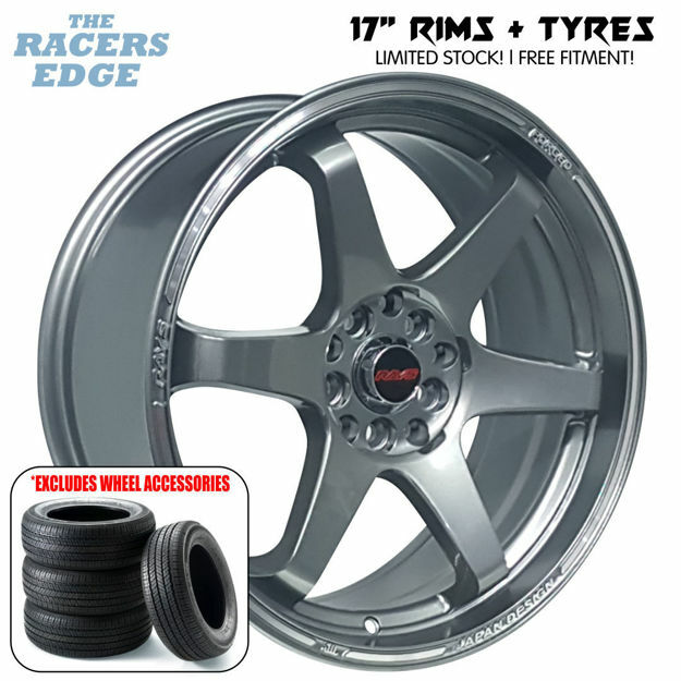Picture of 17 inch Rays TE37 COMBO DEAL - 5x100/114 - Dark Gunmetal