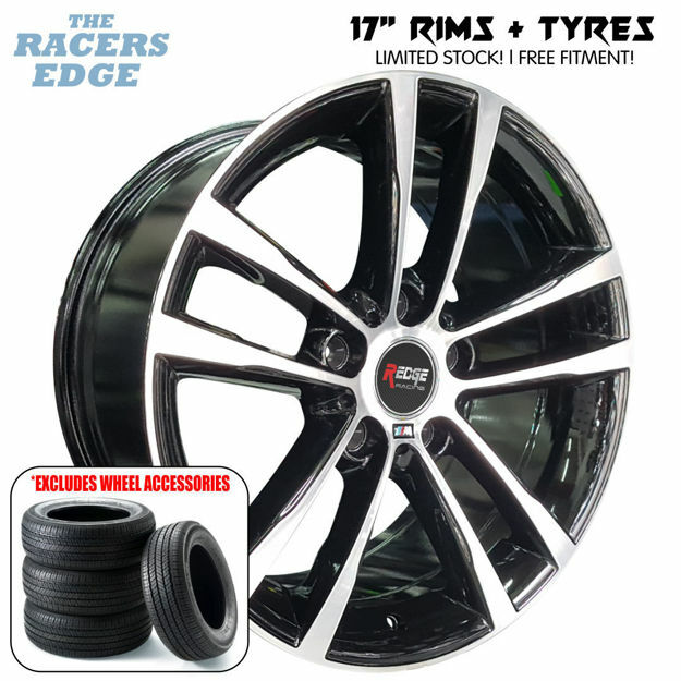 Picture of 17 inch 2019 BM X5 Rep COMBO DEAL - 5x120 - Black