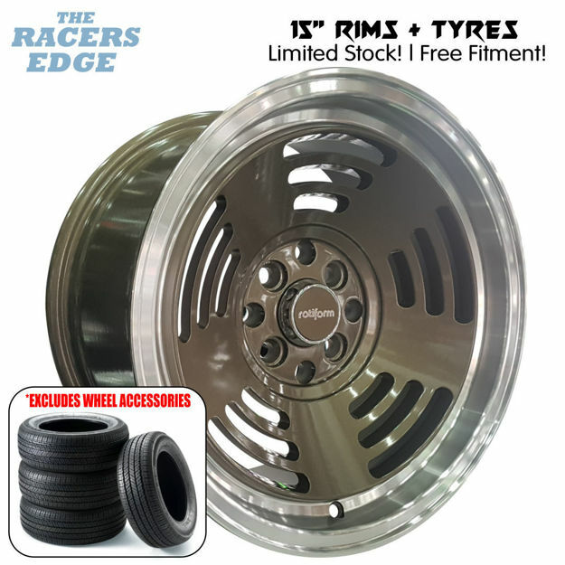 Picture of 15 inch R-Form BM1 Concave COMBO DEAL - 4x100/114 - Bronze