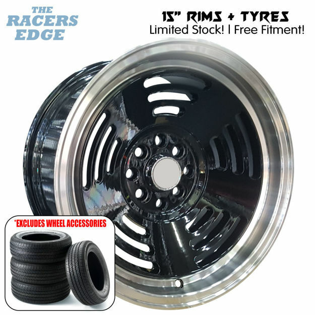 Picture of 15 inch R-Form BM1 Concave COMBO DEAL - 4x100/108 - Black