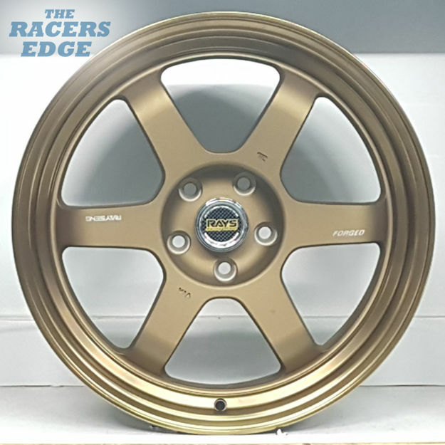 "Picture of 18"" Rays Eng TE37 Reps - 5x112 - Bronze"