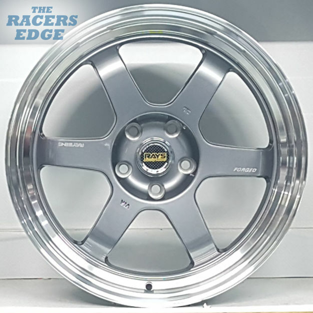 Picture of 18 inch Rays Eng TE37 Reps - 5x112 - Gunmetal
