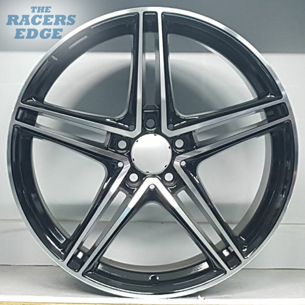 Picture of 19 inch AMG GTC Rep - 5x112 - Black