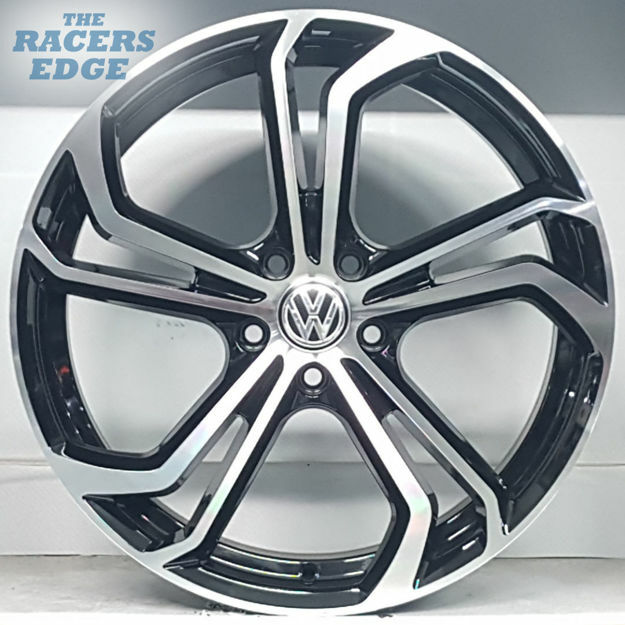 Picture of 19 inch VW GTI TCR Rep - 5x112 - Black