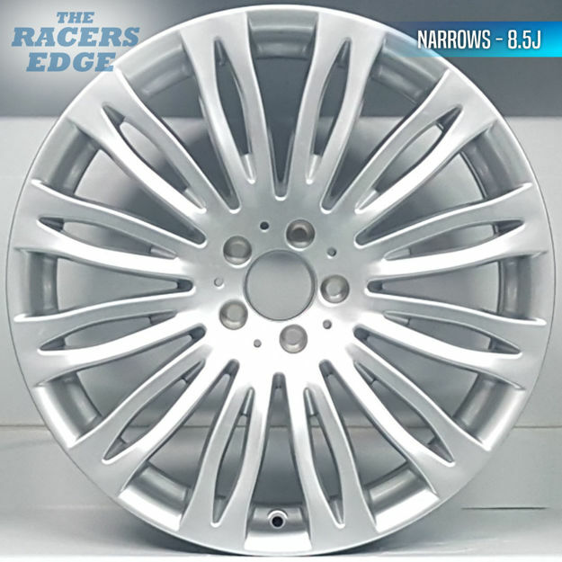 Picture of 20 inch Merc S Class Narrow/Wide Reps - 5x112 - Silver