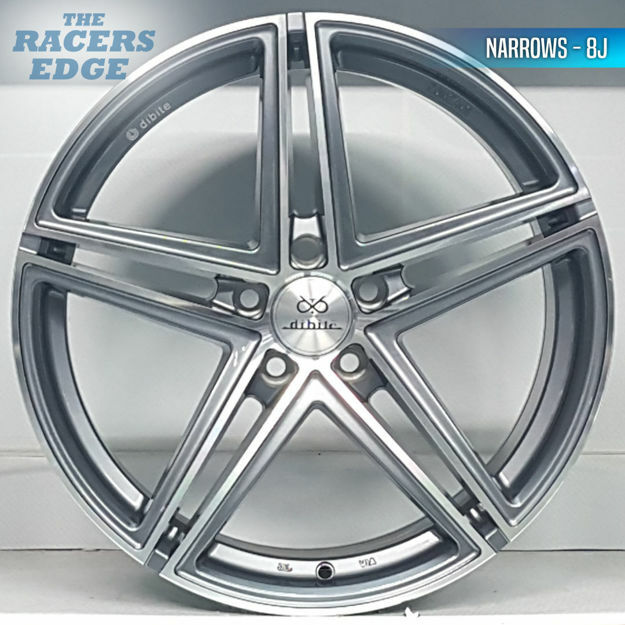 Picture of 18 inch Vossen Dibite Narrow/Wide Reps  - 5x120 - Gunmetal