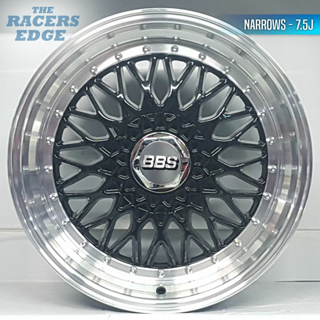 Picture of 17 inch BBS Reps 306 - 5x100/112 - Black
