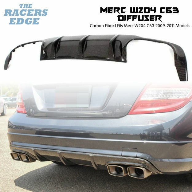 Picture of Merc W204 C63 Carbon Fibre Rear Diffuser (2009 - 2011)
