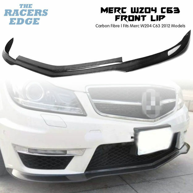 Picture of Merc W204 C63 Carbon Fibre Front Lip (2012)