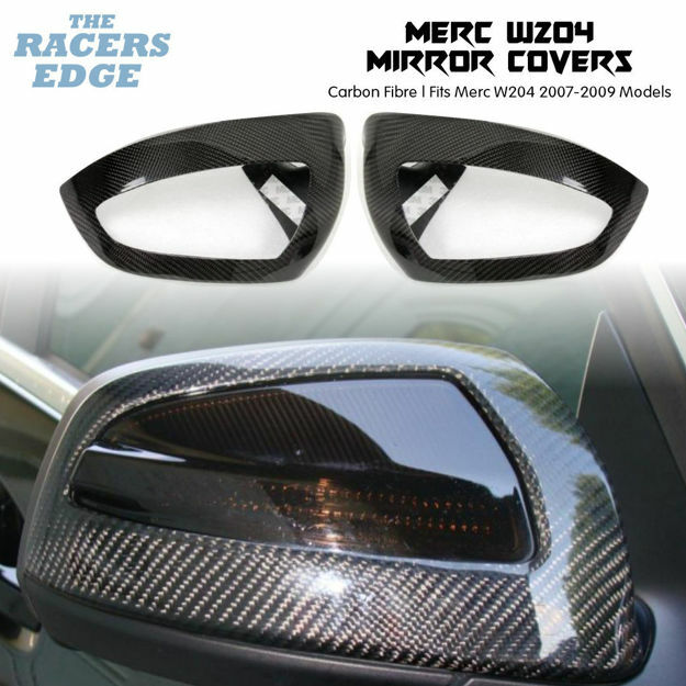 Picture of Merc W204 Series Carbon Fibre Mirror Covers (2007 - 2009)