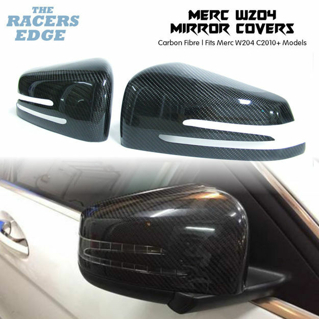 Picture of Merc W204 Carbon Fibre Mirror Covers (2010+)
