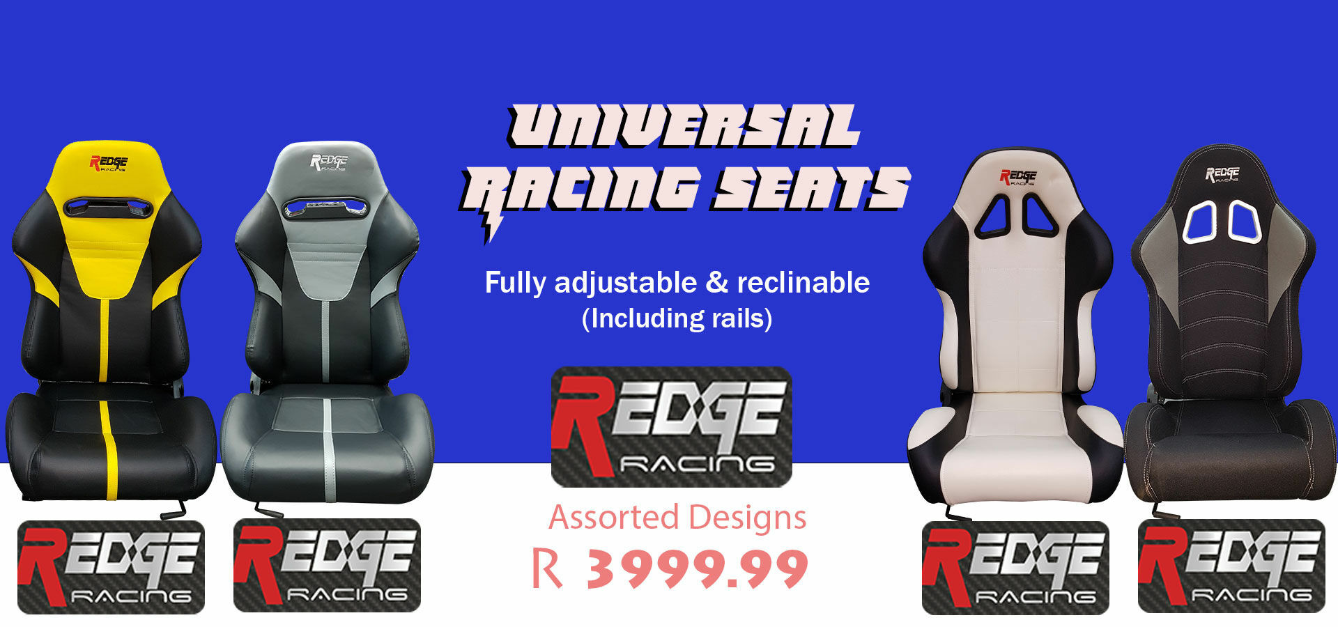 Picture for category R Edge Racing Seats