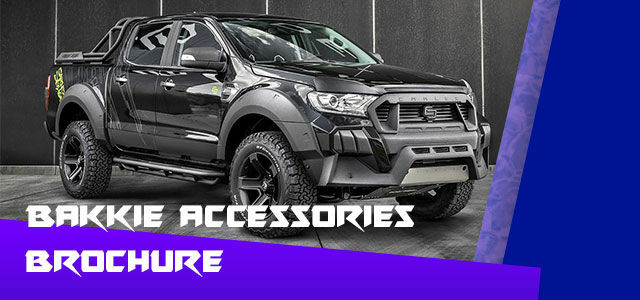 Picture for category Bakkie Accessories Brochure