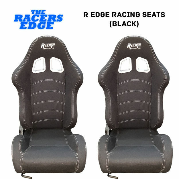 Picture of R Edge Racing Seats (Black)