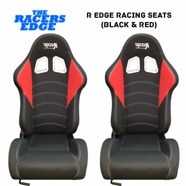 Picture of R Edge Racing Seats (Black & Red)