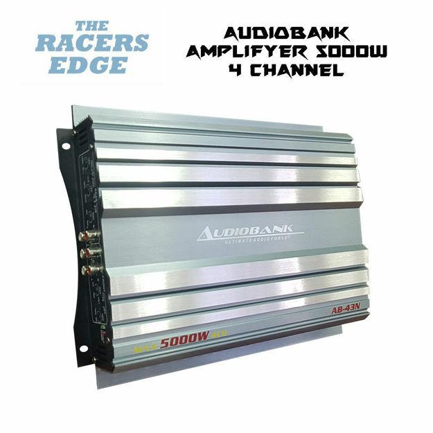 Audiobank 4 Channel Amplifier (5000W)
