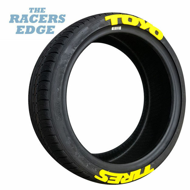 Picture of TOYO Tyre Letters (Yellow)