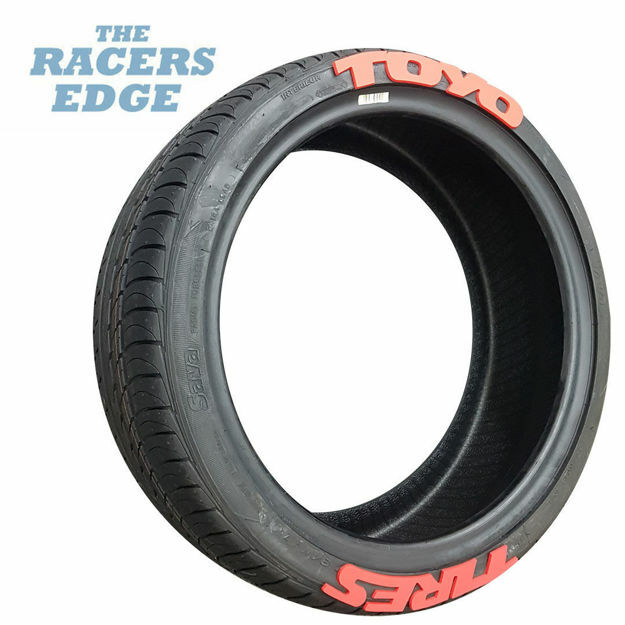 Picture of TOYO Tyre Letters (Red)
