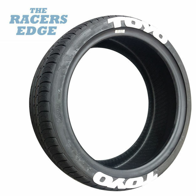 Picture of TOYO Tyre Letters (White)