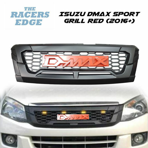 Picture of Isuzu DMAX Sport Grill Red (2016+)