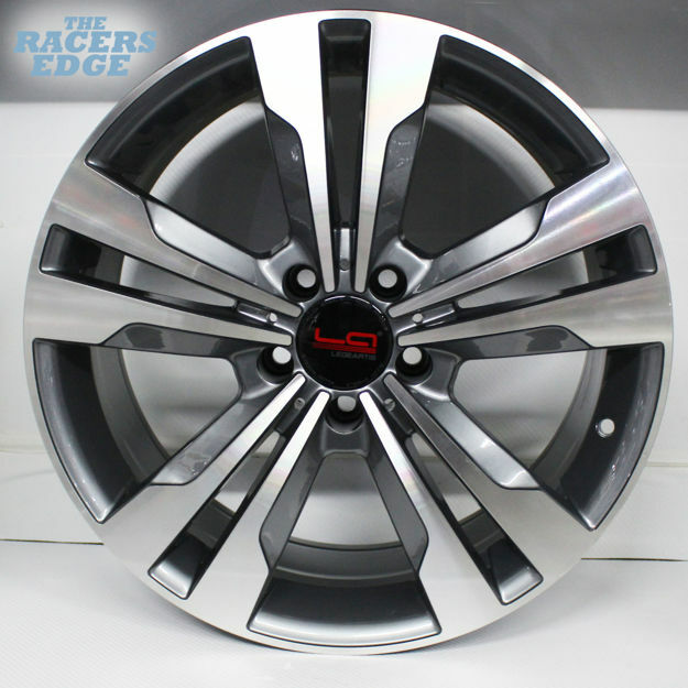Picture of 18 inch  QC1106- 5x112 - Gunmetal Machined Face
