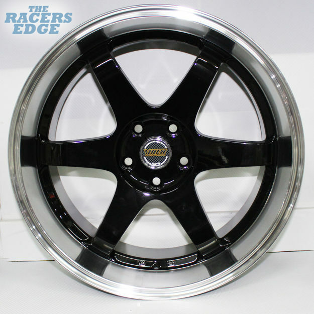 Picture of 19 inch QC601- 5x112 - N/W - Black Machined Face