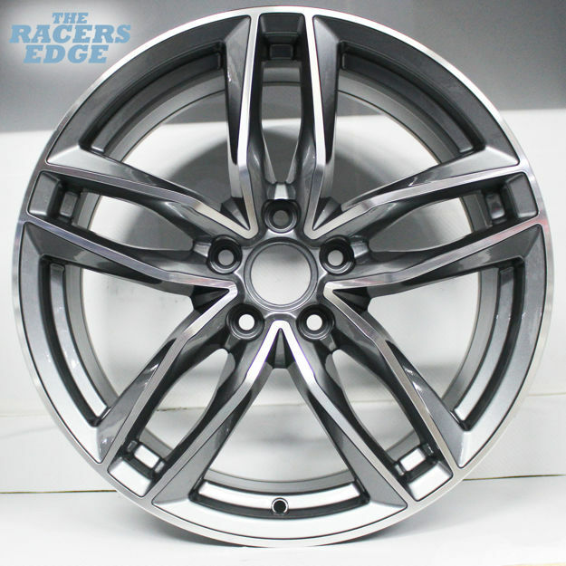 Picture of 19 inch BK690 - 5x112 - Gunmetal