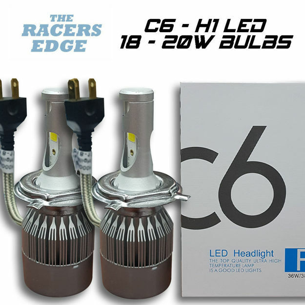 Picture of C6 Super White LED Bulb (H1 / 18-20W)