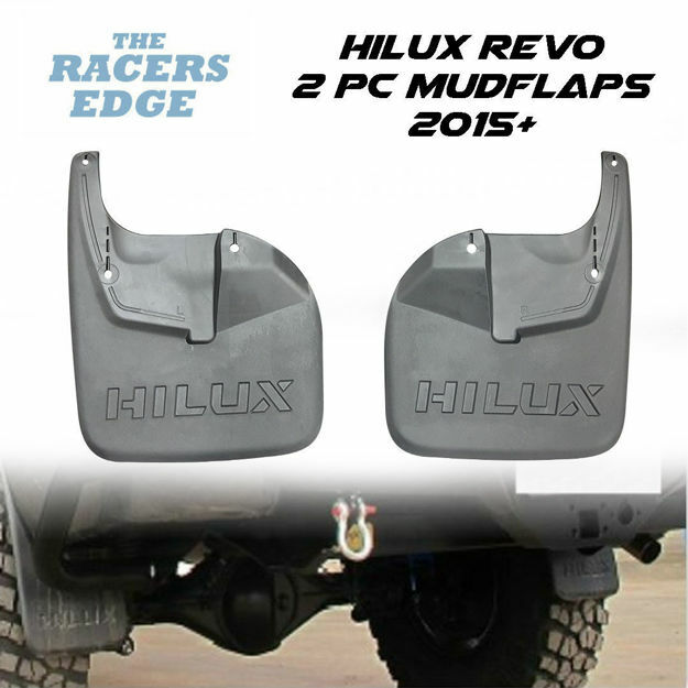 Picture of Toyota Hilux Revo 2Pc Mudflaps (For Front Only - 2015+)