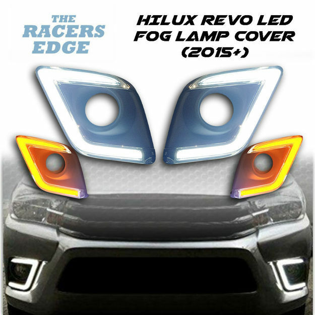 Picture of Toyota Hilux Revo LED Fog Light Cover (2015+)