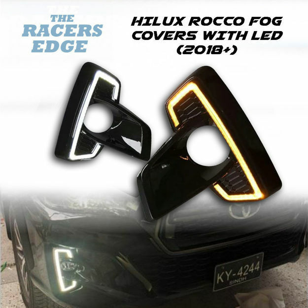 Picture of Toyota Hilux Rocco LED Fog Light Cover (2018+)